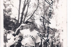 John Vander Meer signed snapshot photo 1938 001
